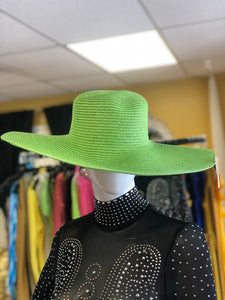 Oversized Brim Straw Floppy Hat- Various Colors
