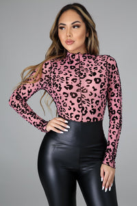 In The Mood Bodysuit- Pink