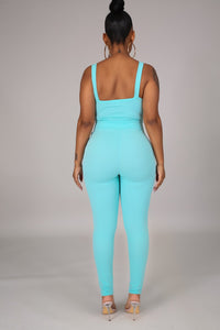 Irresistible Jumpsuit- Mint