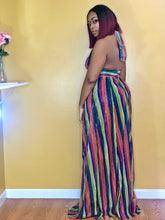 Rainbow Shine Maxi Dress- Purple