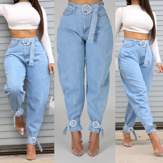 I'm That Girl Jeans- Light Denim