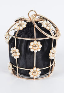 The Princess Clutch- Black