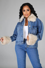 Hard To Resist Denim Jacket- Denim