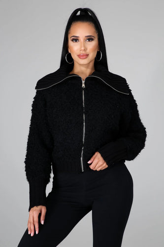 The Nikki Jacket- Black