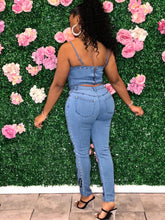 Feeling Myself Denim Set- Denim