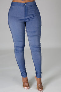 All Love Corset & Pant Set- Denim