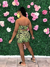 Slithered Shorts Set- Neon Yellow