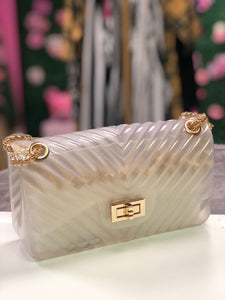 Stacy Crossbody Bag- Clear