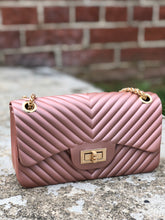 Stacy Crossbody Bag- Rose Gold