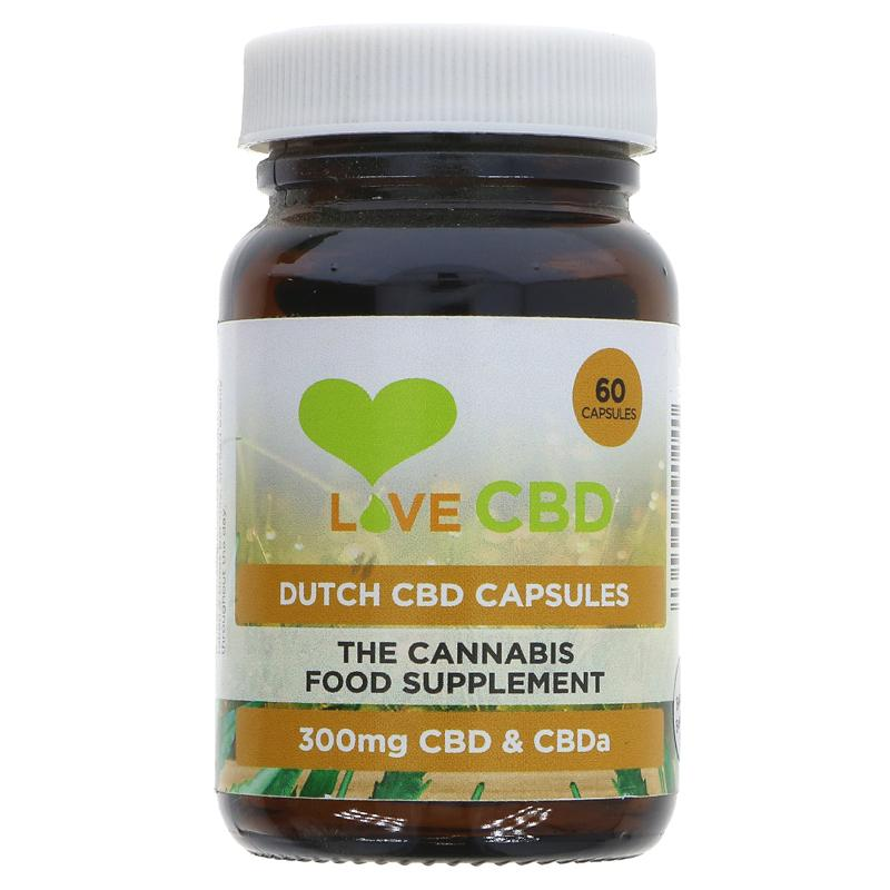 Love Cbd Dutch CBD Oil Capsules 60 caps