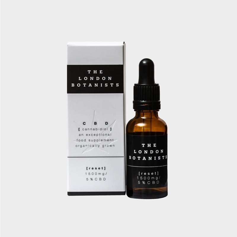 The London Botanists Reset 5% Cbd Extract (Full Spectrum) 10ml