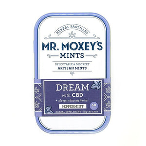 Mr. Moxey's DREAM 300mg CBD Peppermint Mints