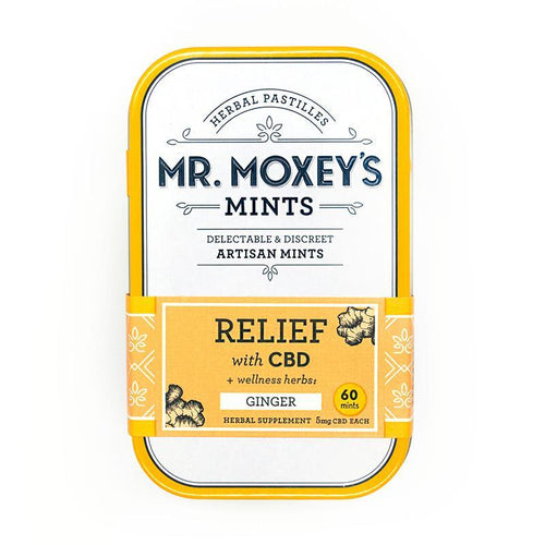Mr. Moxey's RELIEF  300mg CBD Ginger Mints