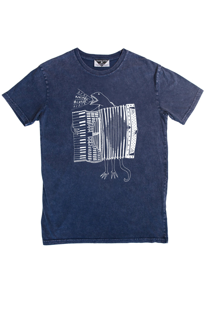 The Accordion of Unexpected Fortunes Men's Stonewash Tee