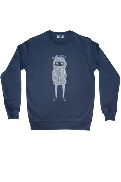The Birthday Monster Royal Sweatshirt