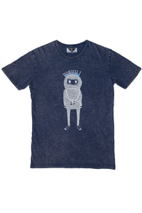 The Birthday Monster Men's Stonewash Tee