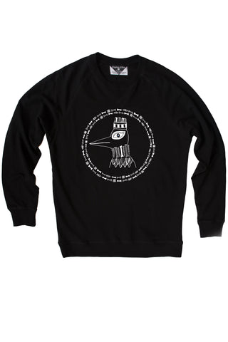 The Boney Birds of Revelry Royal Sweatshirt with Sequin