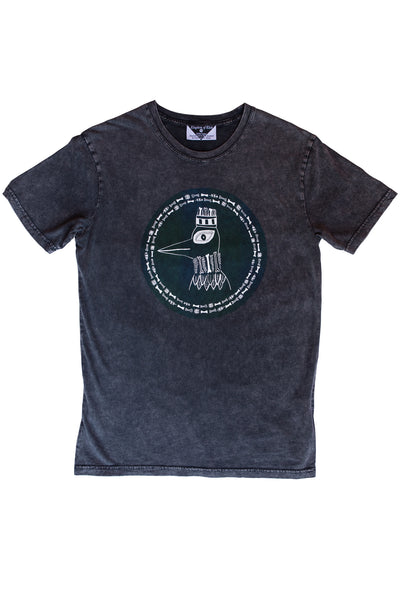 The Boney Birds of Revelry Men's Stonewash Tee