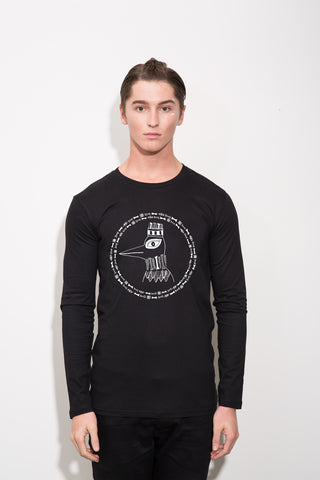 The Boney Birds of Revelry Men's Emperor Longsleeve