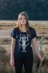 The Lantern Moth's Commemoration Women's Baroness Tee