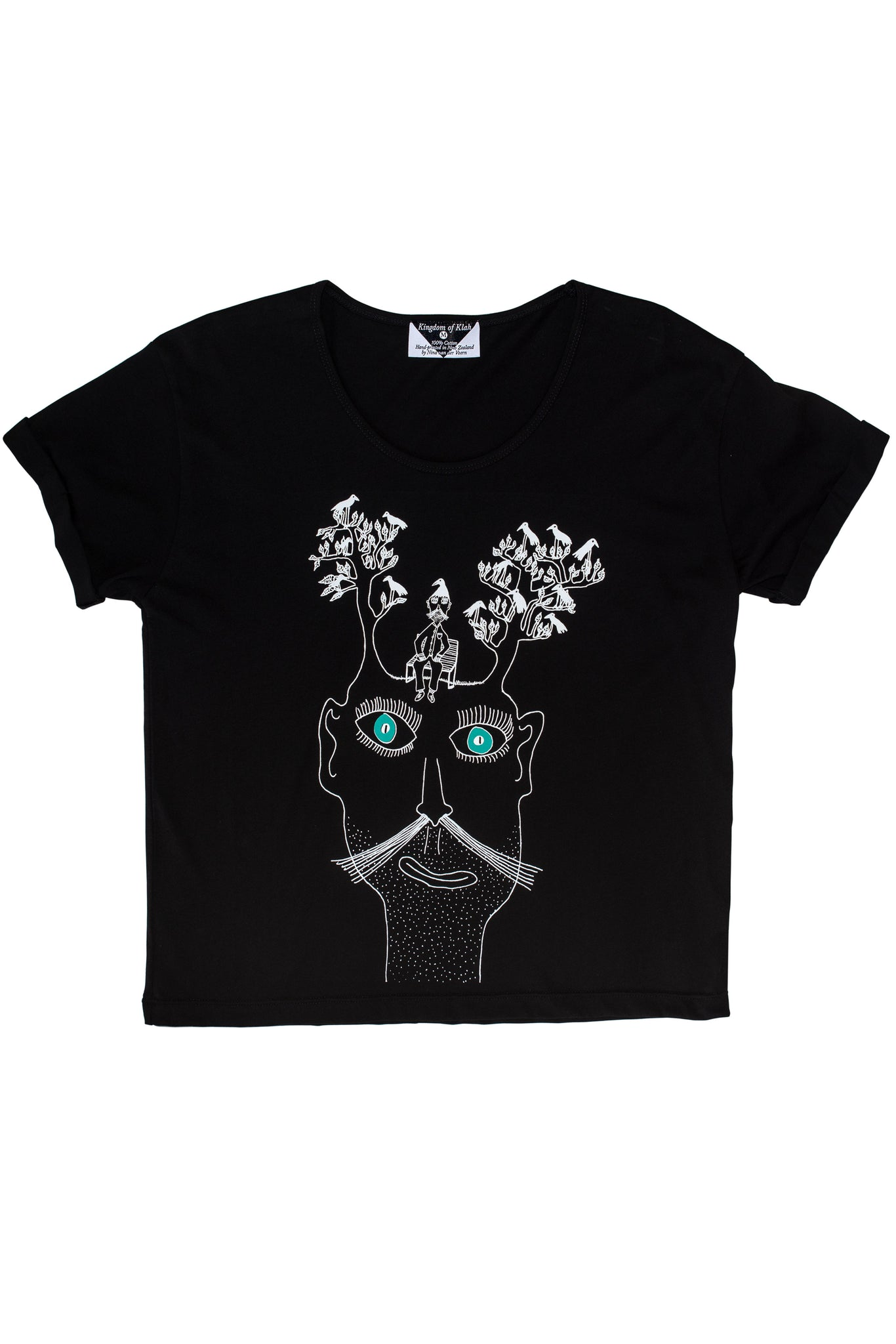 The Man Who Loved Trees Women's Baroness Tee