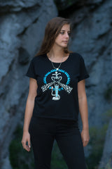 The Hypnotic Cobra Women's Baroness Tee