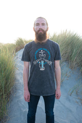 The Hypnotic Cobra Men's Stonewash Tee