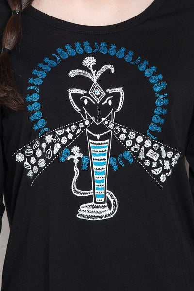 The Hypnotic Cobra Women's Longsleeve
