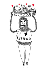 I Heart Kittens Gift Card