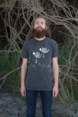 The Lantern Moths' Commemoration Men's Stonewash Tee