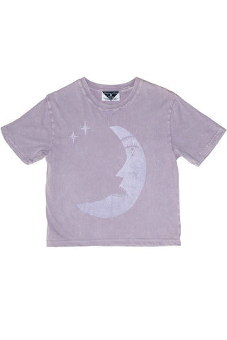 Les Moon (Poet) Women's Stonewash Monarch Tee