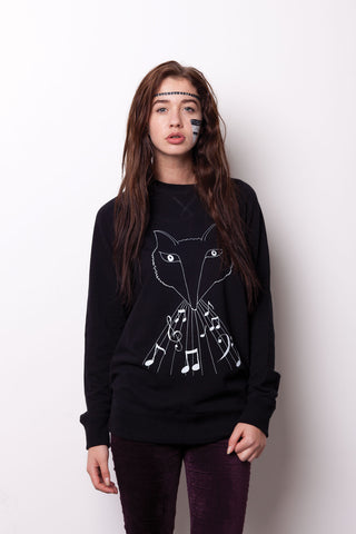 Wolf-Fox Royal Sweatshirt