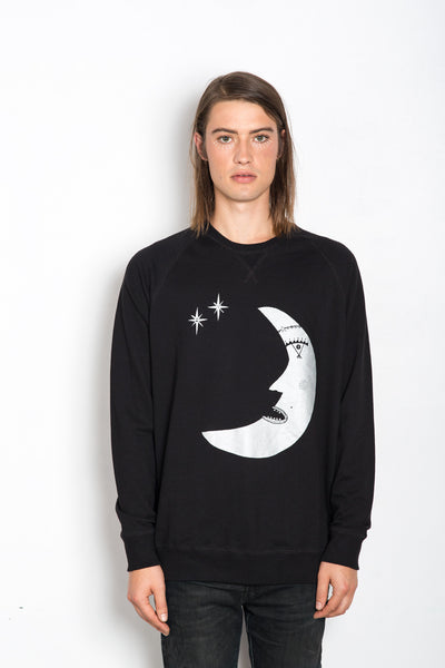 Les Moon, (Poet) Royal Sweatshirt