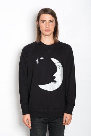 Les Moon, (Poet) Unisex Royal Sweatshirt