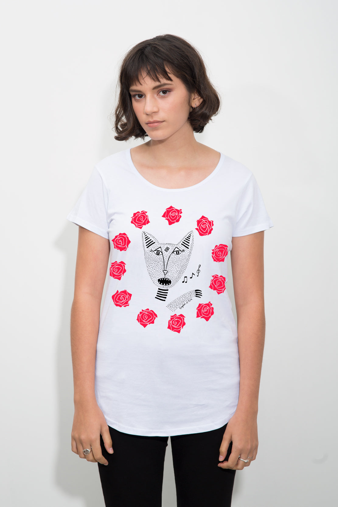 The Native Singing Cats Women's Duchess Tee