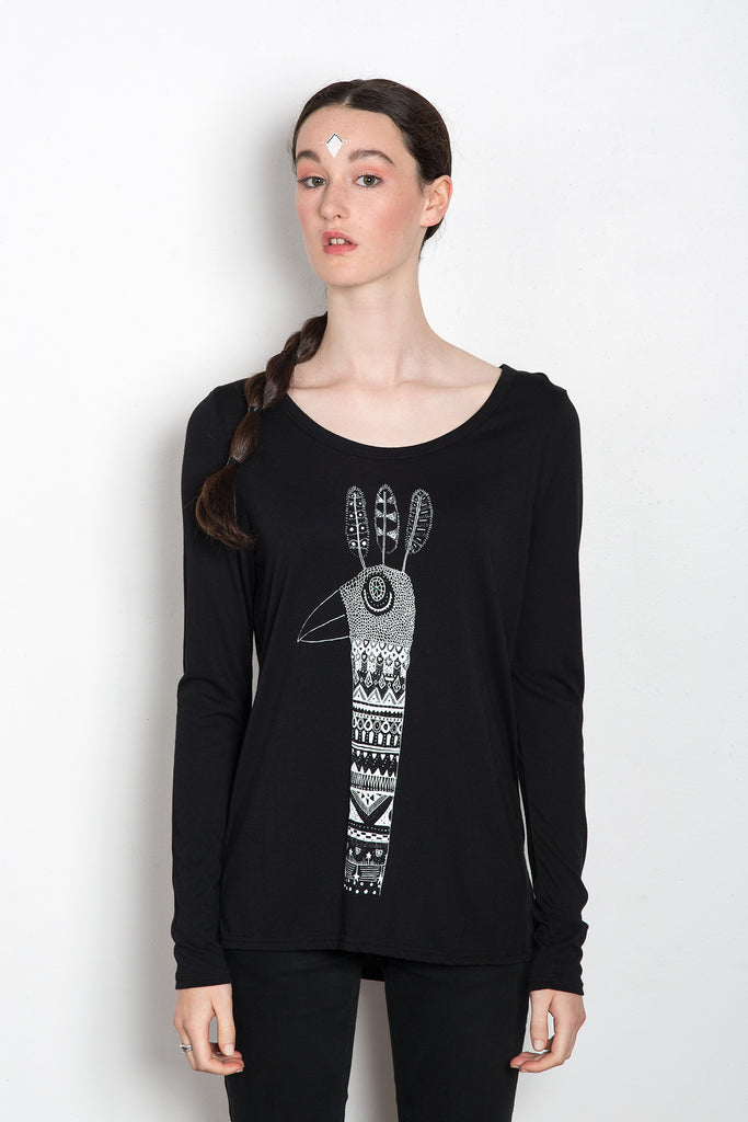 Sacred Feather Women's Empress Longsleeve