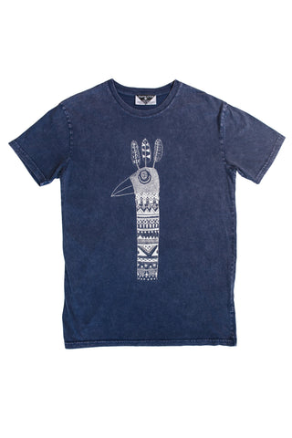 Sacred Feather Men's Stonewash Tee