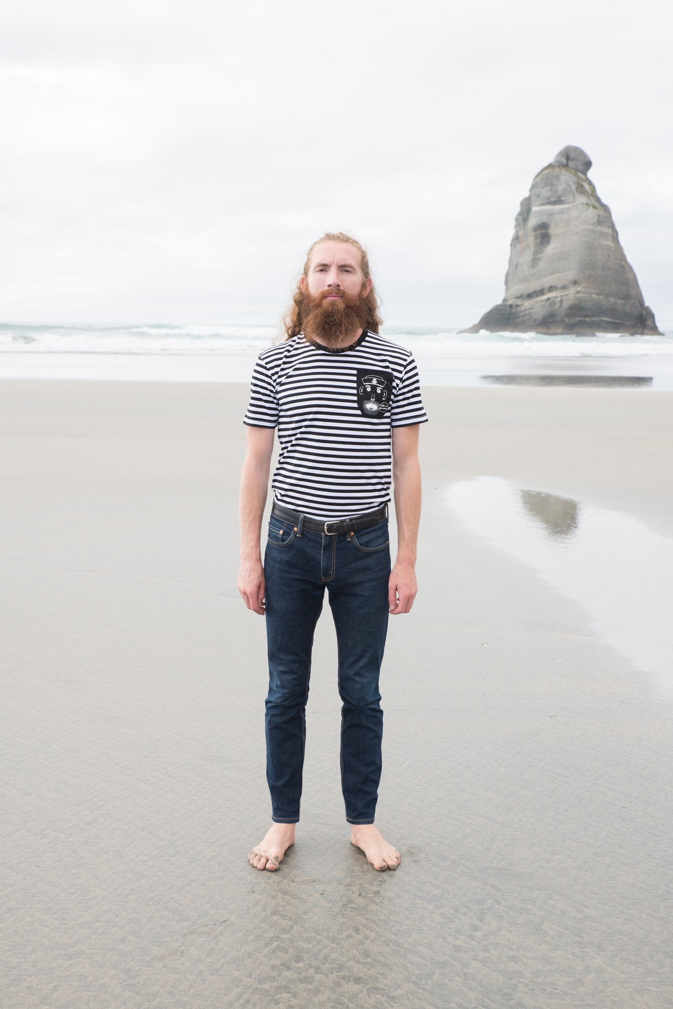 The Sailor's Pocket Men's Striped Tee