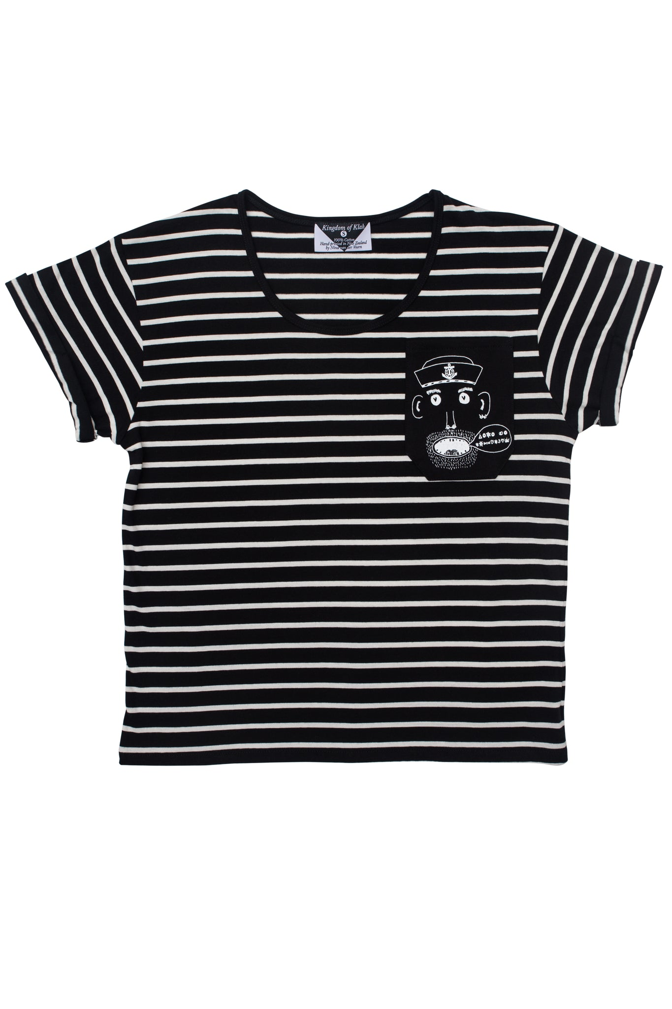 The Sailor's Pocket Women's Baroness Tee