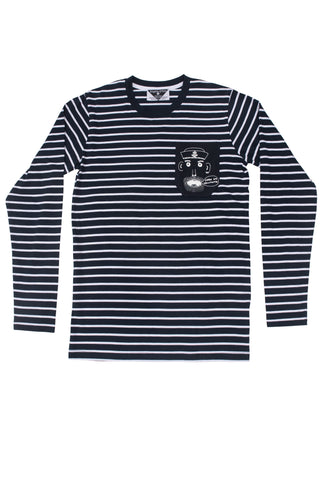 The Sailor's Pocket Men's Striped Longsleeve Tee