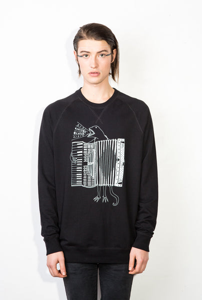 The Accordion of Unexpected Fortunes Unisex Royal Sweater