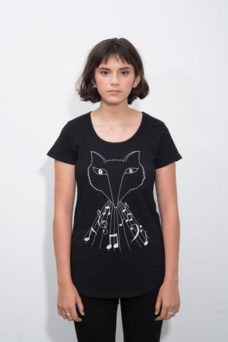 The Wolf-Fox Women's Tee