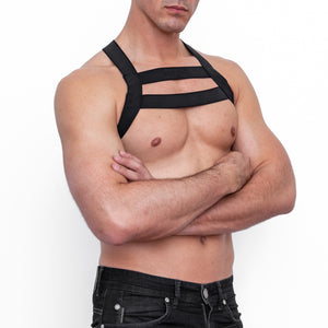 Bad God Eros Harness Front Arms Folded