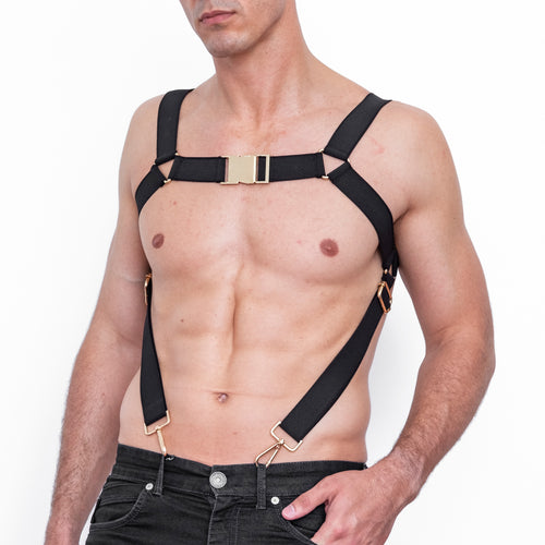 Bad God Odin Buckle Harness Front