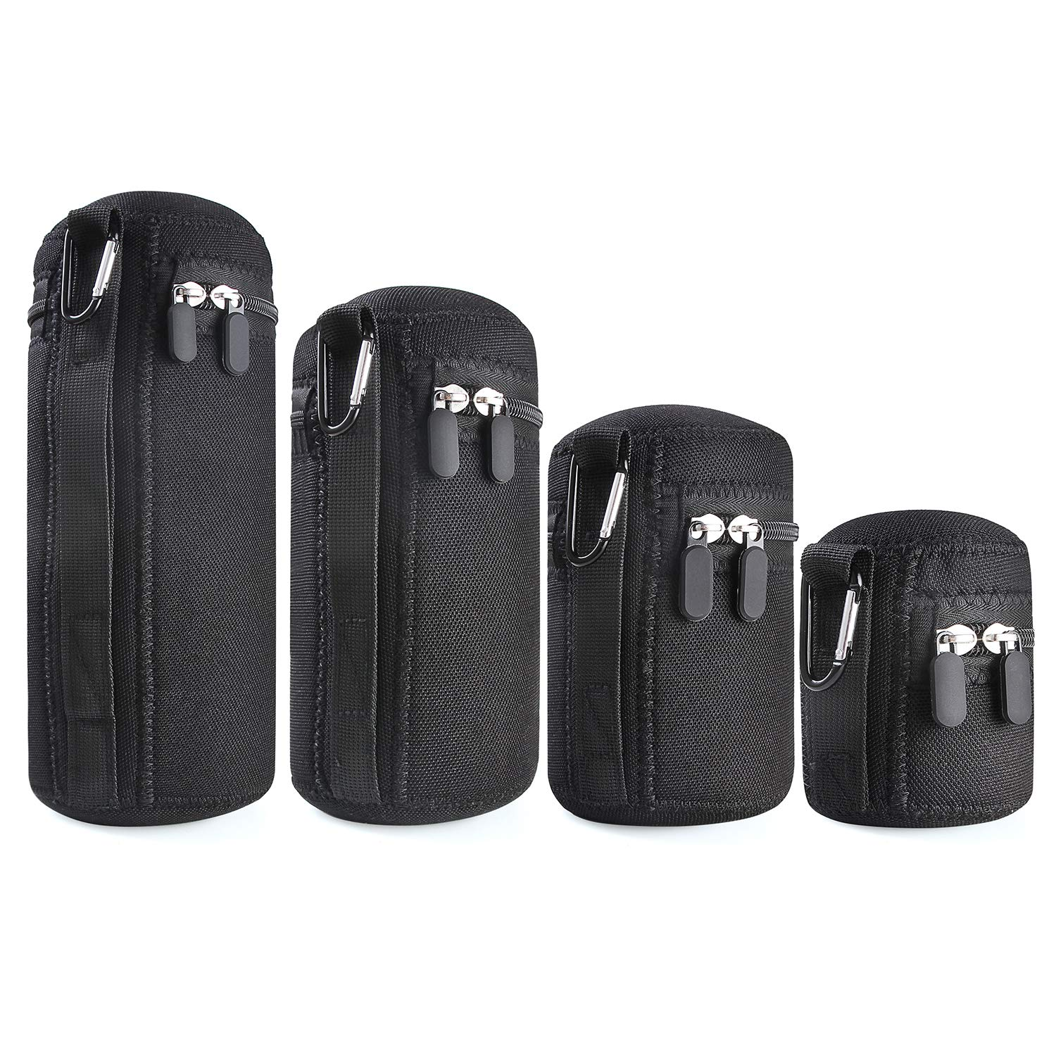 Bemyar™ Camera Lens Pouch Set [4 Pack]