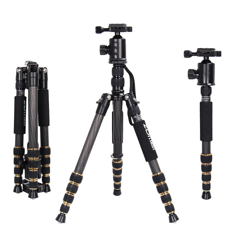 CARBON FIBER Tripod Monopod Kit & Ball Head
