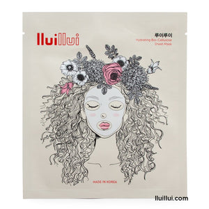 lluillui facial sheet Mask : Bio-Cellulose Sheet Mask