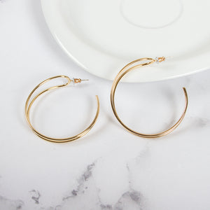 Statement Cutout Drop Earrings