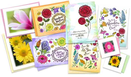 LindaGeez Happy Note Cards