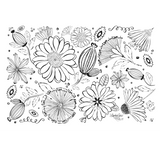 LindaGeez Wildflowers Bold Pattern Tissue Paper